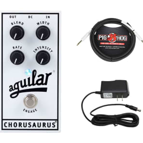 Aguilar Chorusaurus + Instrument Cable + Power Supply for sale