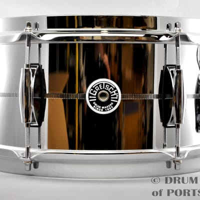 Gretsch Brooklyn Steel Snare Drum 6x12