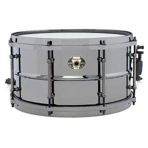 "Ludwig LW0713 Black Magic 7x13"" Brass Snare Drum"