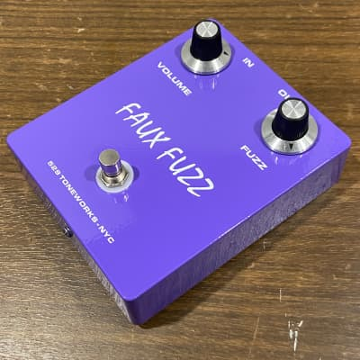 Faux Fuzz NKT Germanium Pedal - Vintage Newmarket Transistors - Fuzz Face - Purple #275-09 for sale