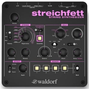 Waldorf Streichfett String Synthesizer (Used/Mint)