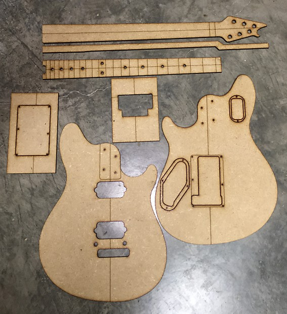 Guitar Building Templates Wolfgang Special 2017 | Reverb