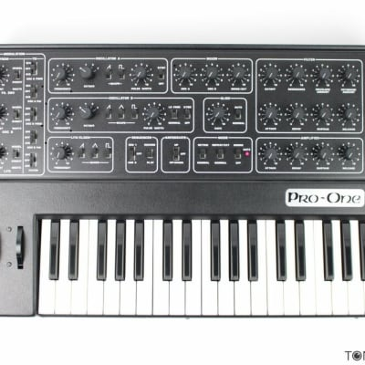 SEQUENTIAL CIRCUITS PRO-ONE Refurbished & Future-Proofed by Vintage Synth Dealer