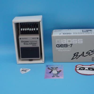 Boss GEB-7 Bass Equalizer w/Original Box | Fast Shipping!