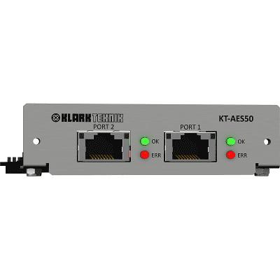 Klark Teknik KT-AES50 Network Module w/ Demo Video