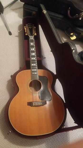 39 76 guild navarre f412 12 string jumbo acoustic guitar reverb. Black Bedroom Furniture Sets. Home Design Ideas