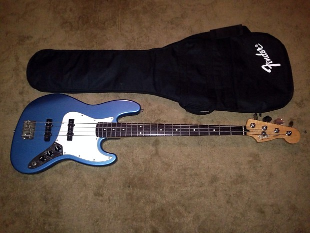 1995 fender jazz bass electric guitar made in mexico reverb. Black Bedroom Furniture Sets. Home Design Ideas