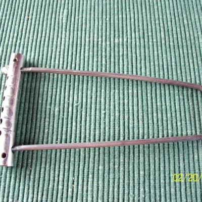 Gibson Les Paul Gold Top  Bridge Tailpiece 1952 Trapeze Nickel Complete