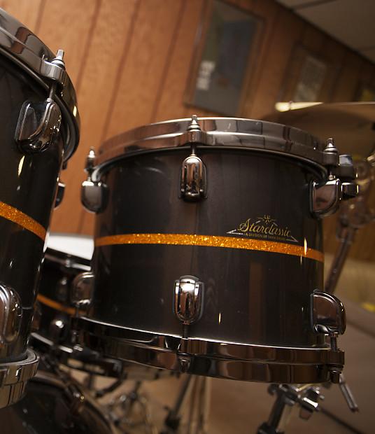 c734459c4e7a Tama Starclassic Bubinga Elite 2005 10x8 Rack Tom Black