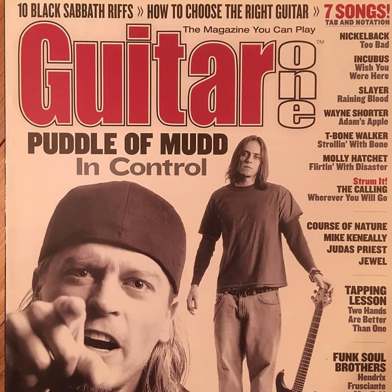 Guitar One April 2002 Puddle Of Mudd | nasonm | Reverb  Guitar One Apri...