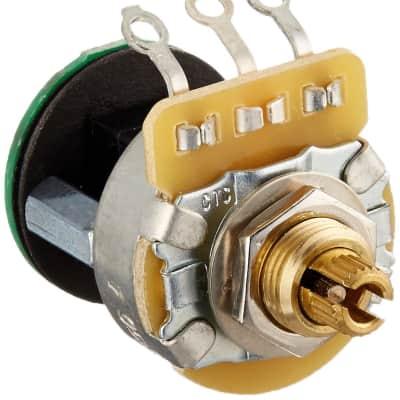 Fender 006-1256-049 250K Linear Taper Split Shaft S-1 Switch / Potentiometer