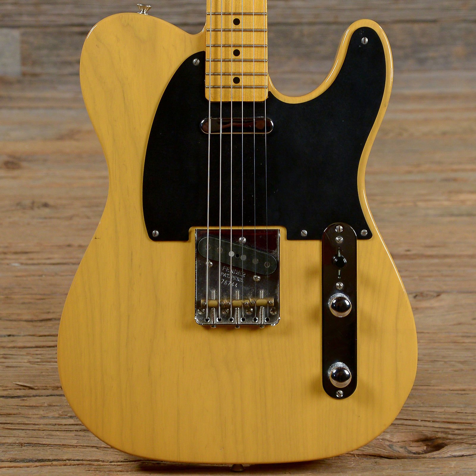 Fender American Vintage 52 Telecaster Butterscotch