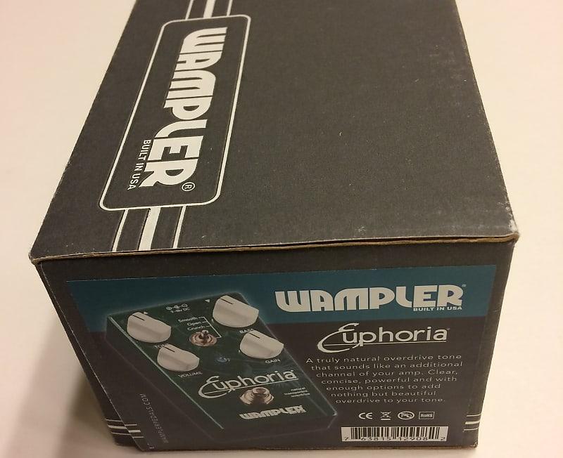 wampler euphoria overdrive v2 pedal near mint vk shop reverb. Black Bedroom Furniture Sets. Home Design Ideas