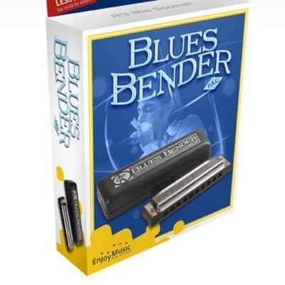 Hohner Blues Bender M586BX-F Harmonica    Key of F