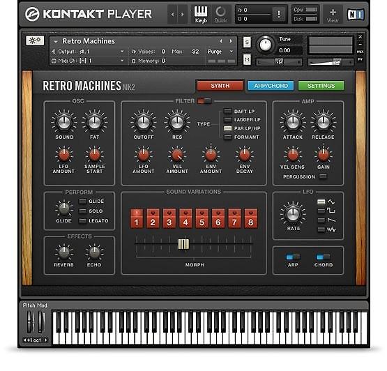 Native Instruments Retro Machines MK2 | Kelley's Gear