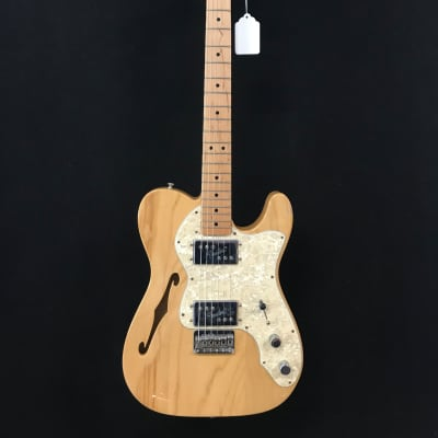 Fender Classic Series '72 Telecaster Thinline  natural for sale