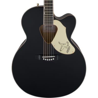 Gretsch G5022CBFE Rancher Falcon Jumbo Cutaway Acoustic Electric, Black for sale