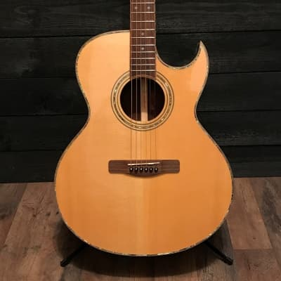 Samick ASMJR-CE All Solid Wood Series Acoustic Electric Guitar for sale