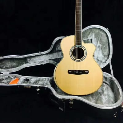 Merida A72CS Cutaway solid Spruce/Indian rosewood Acoustic guitar with hardcase for sale