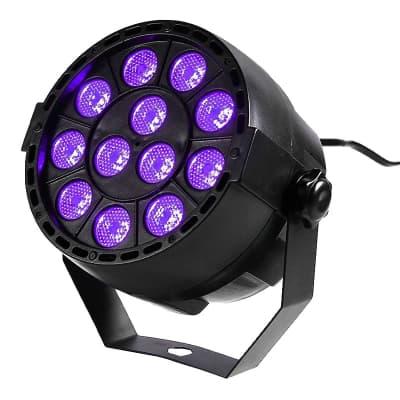 Eliminator MINIPARUVWLED W LED 12*1W LED Par UV/W