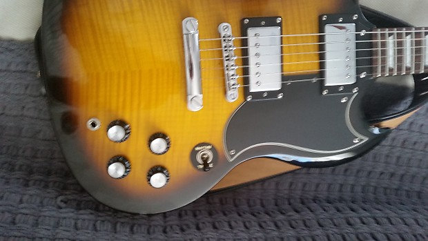 6a97f0c168036b Epiphone SG G-400 DELUXE FLAME MAPLE TOP 2007