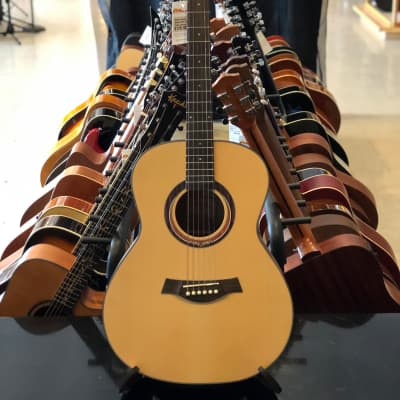 Kazuki KOM-99 OM Style Acoustic Guitar Natural for sale