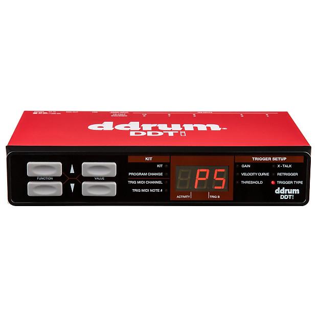 Drum Trigger Interface : ddrum ddti electronic drum trigger interface geartree reverb ~ Vivirlamusica.com Haus und Dekorationen