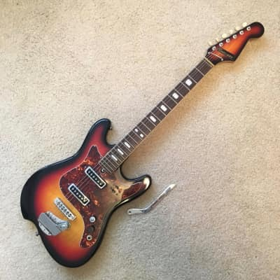 G Holiday Guitar - 1960's - Made in Japan - Sunburst - Kawaii - Tiesco - w/OHSC! for sale