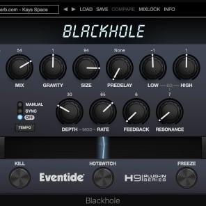 Eventide Blackhole Reverb (Student Discount)