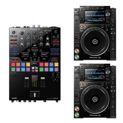 Pioneer CDJ-2000NXS2 DJ Multi Player Pair w/ DJM-S9 Mixer