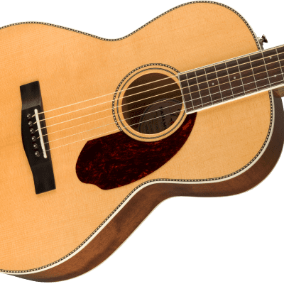 NEW! Fender PM-2 Parlor Natural Finish with Case Natural Finish - Authorized Dealer Paramount Series