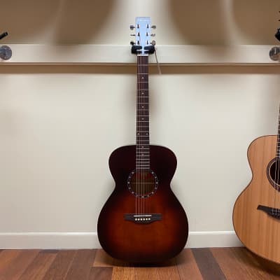 Norman B18 Concert Hall acoustic-electric guitar - Burnt Umber for sale
