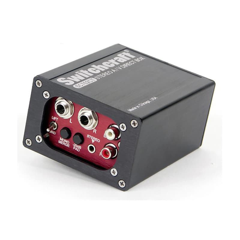 Switchcraft SC702CT Stereo A//V Direct Box