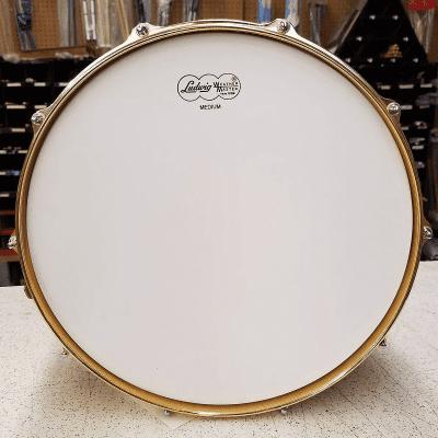 "Ludwig LM2000MX6 Limited Edition Millennium 6.5x14"" 10-Lug Birdseye Maple Snare Drum with Tube Lugs, Brass Hardware 2001"
