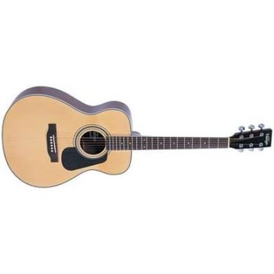 Vintage V300 Folk Acoustic, Natural for sale
