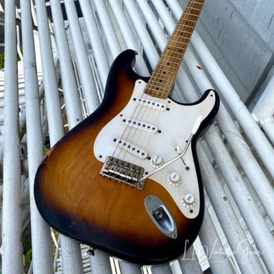 Revelator '55 SuperKing  S -Style  Electric Guitar -  Tobacco  'Burst  (2020) for sale