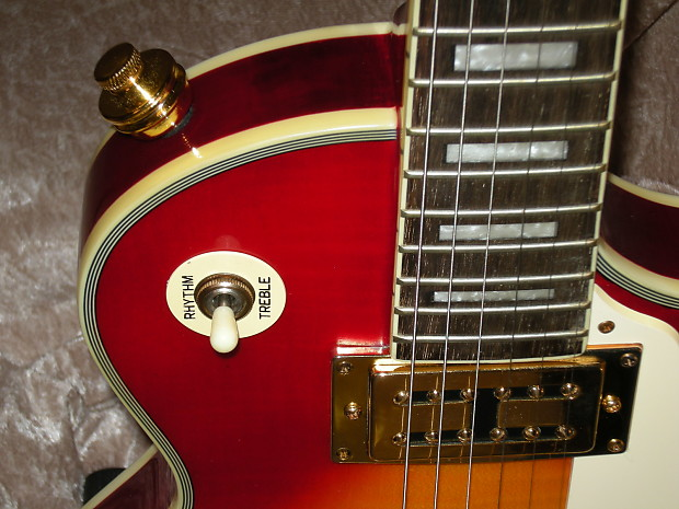 cielo near mint cherry sunburst lp electric guitar reverb. Black Bedroom Furniture Sets. Home Design Ideas