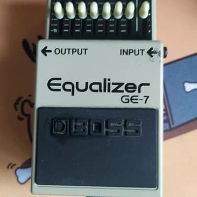 Boss GE-7 Equalizer Seven-Band Graphic Equalizer Guitar Pedal Free Shipping