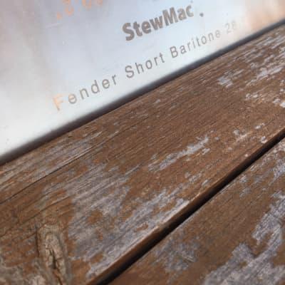 StewMac Fret Scale Template Fender Baritone 28.5