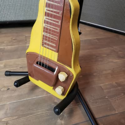 Gibson BR-9 Lap Steel Yellow