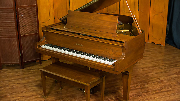 Baldwin Model R Parlor Grand Piano - Made in USA 1980 - Walnut Satin Finish  - FREE Delivery in USA