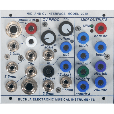 Buchla 225h MIDI-CV Interface