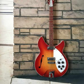 Rickenbacker 1993 Rose Morris 12 String 1964 Fireglo for sale