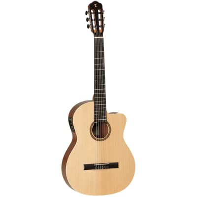 Tanglewood Winterleaf Classical Cutaway Electric Guitar for sale