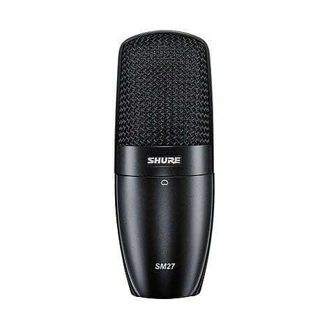 Shure SM27 Large-Diaphragm Condenser Microphone