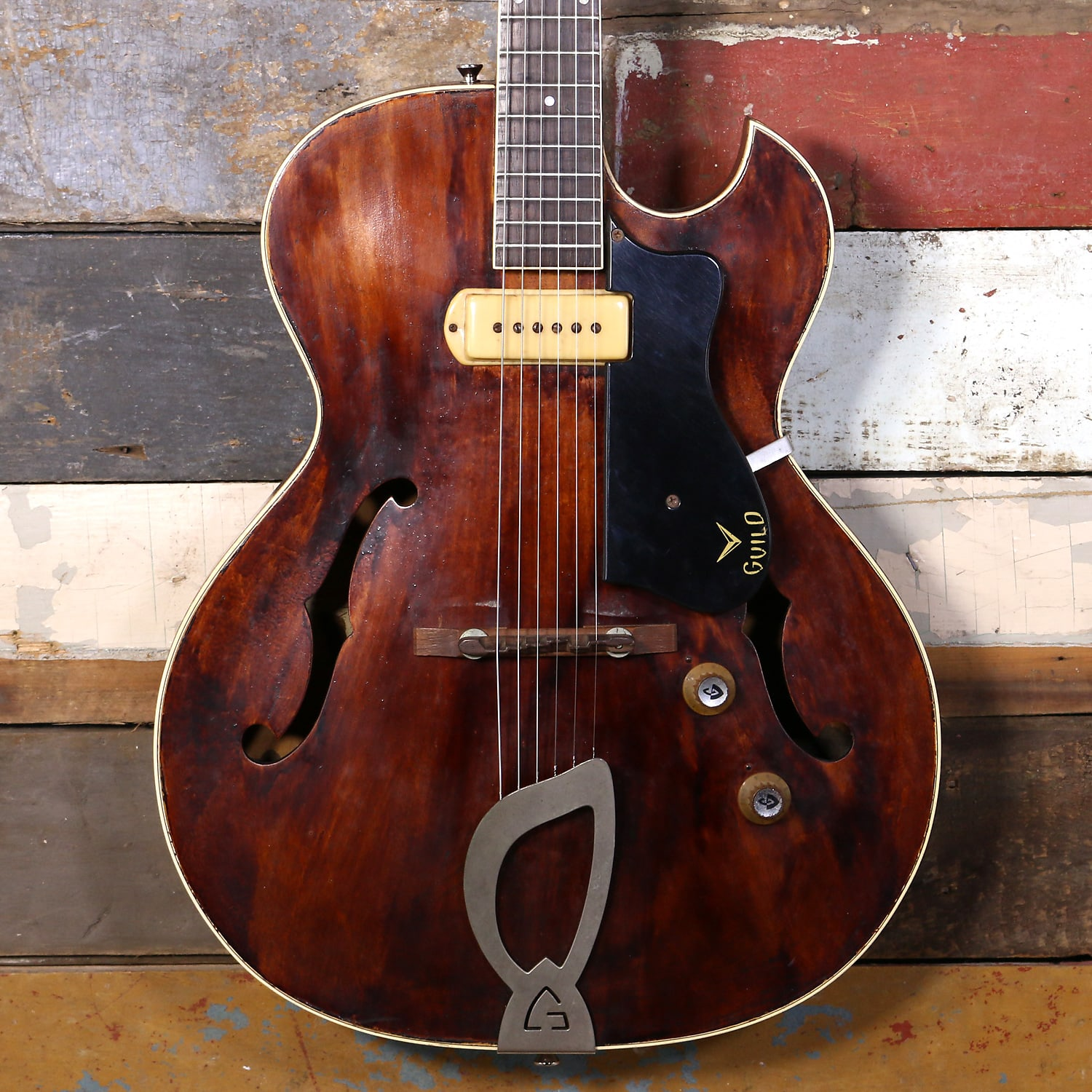 1961 Guild T-100 Brown