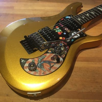 PRS S2 VR Vernon Reid Signature Ltd Ed Vela, Egyptian Gold + Gigbag for sale