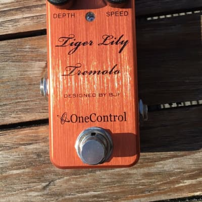 One Control Tiger Lily Tremolo 2010s Orange for sale