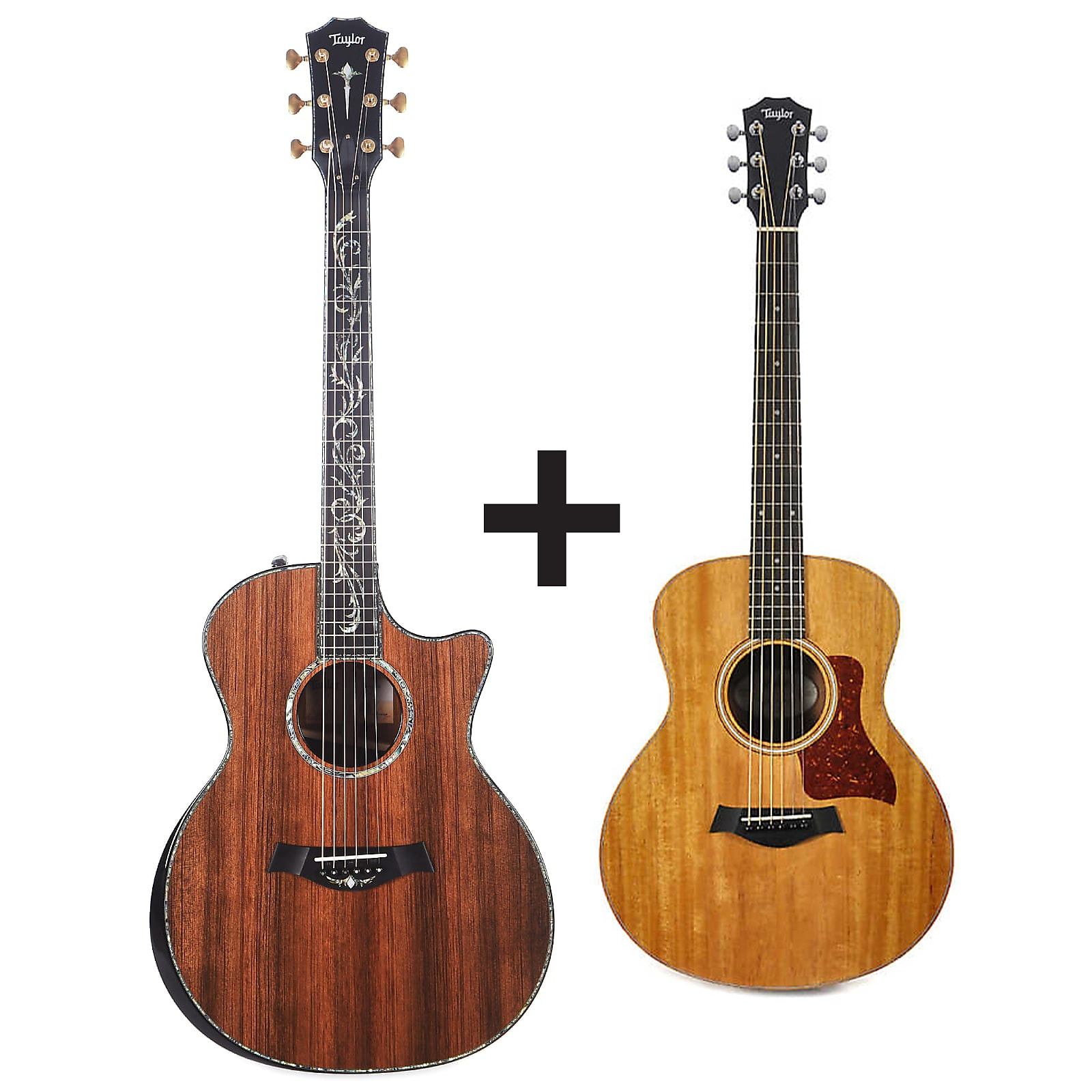 Taylor PS14ce Sinker Redwood/Cocobolo ES2 w/V-Class Bracing ADD Taylor GS Mini for $99