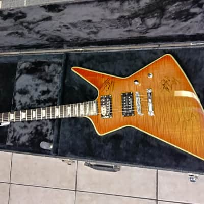 LAG PHIL CAMPBELL  HONEY FLAME TOP MOTORHEAD for sale